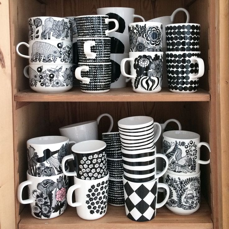 Coffee. Coffee cup collection. Marimekko. Arabia Finland. Iittala. Finnish. Nordic. Interior and lifestyle. By Johanna Sandberg.