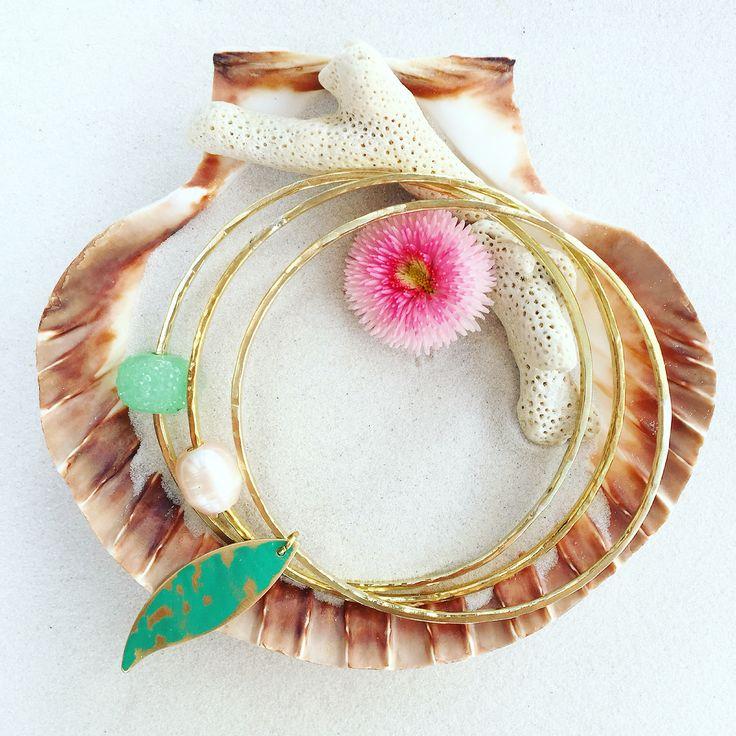 Lifou bangles inspired by the sea