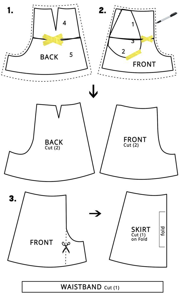 Women's Skort DIY - Great Pattern Hack