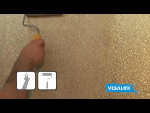Love this! VESALUX Go Glitter | Shimmering Glitter Paint for Walls