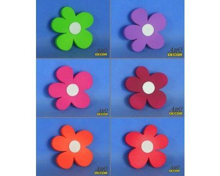 Zestaw Kwiatów 13 CM - 6 Sztuk ! Kwiaty, Dekoracje Do Przedszkola,Pokój Dziecięcy - ARQ - DECOR | Pracowania Dekoracji ARQ DECOR