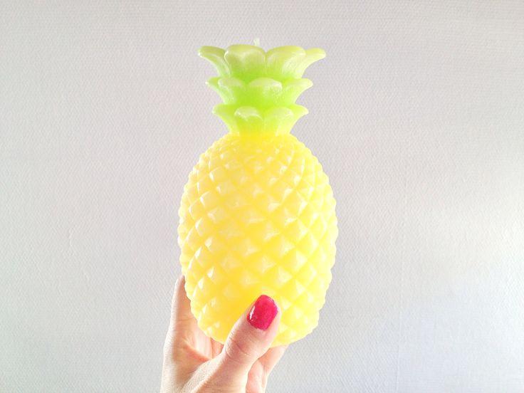 Pineapple candle Hema interior