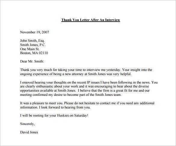 25+ melhores ideias de Thank you after interview no Pinterest - thank you email