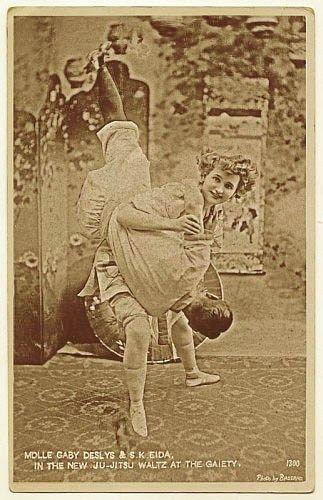 Gaby Deslys doing the Ju-Jitsu Waltz