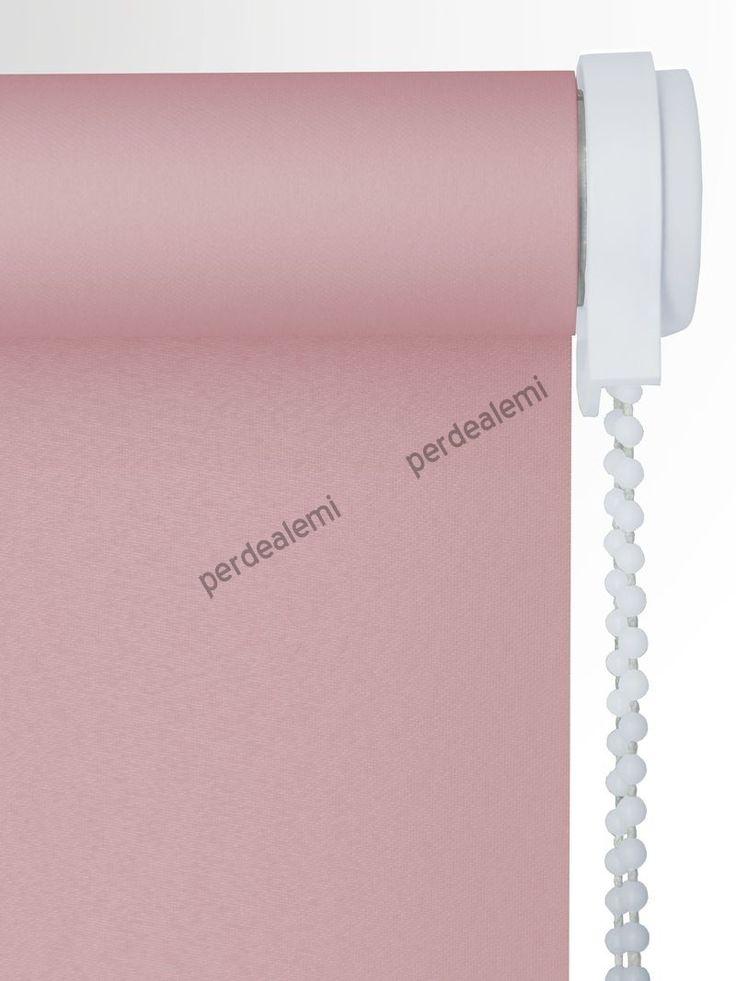 Stor Perde Pembe Polyester Serisi 2532 Stor Perde | Perde | Online | Ucuz | Hesaplı | Brillant