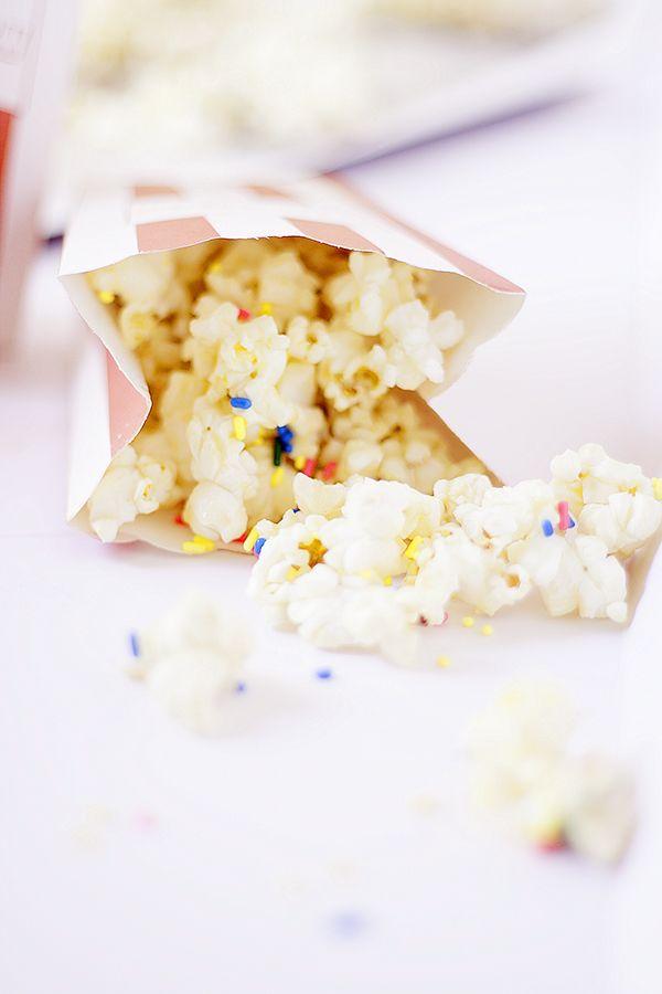 healthier cake batter popcorn (made with cashew butter) | heathersfrenchpress.com