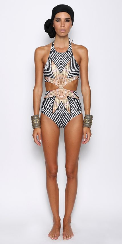 See the Hottest Swimsuit Styles From Resort 2016 Miami Swim Week | InStyle.com