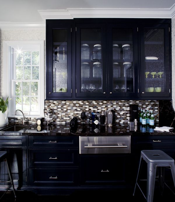 Indigo on Pinterest  Indigo, Blue kitchen cabinets and Indigo walls