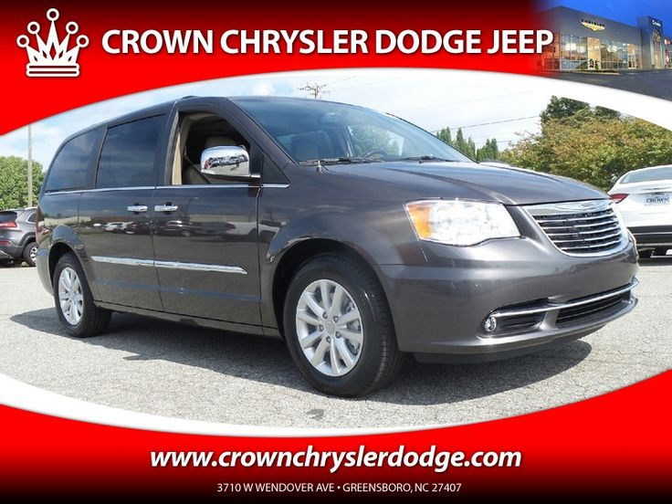 New 2016 Chrysler Town & Country Limited Platinum For Sale in Greensboro NC  