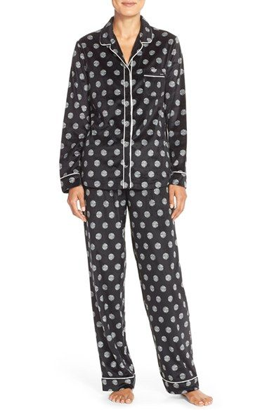 DKNY Microfleece Pajamas available at #Nordstrom