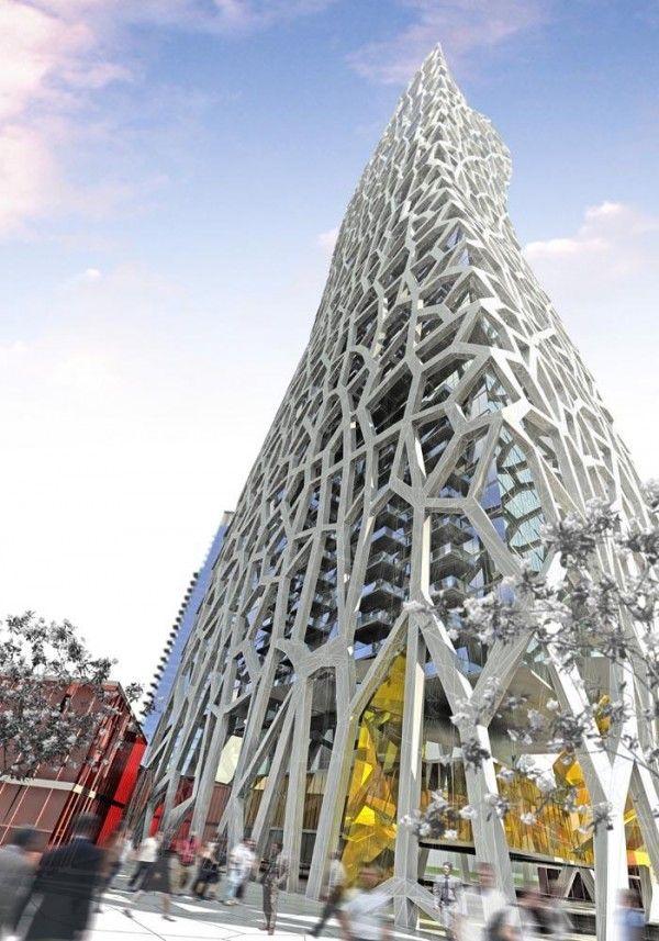 Earthmark Tower http, Michel Rojkind