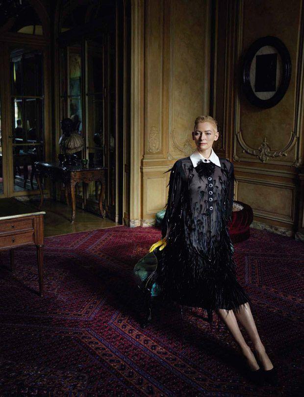 Tilda Swinton for Vogue Italia July 2016 by Yelena Yemchuk