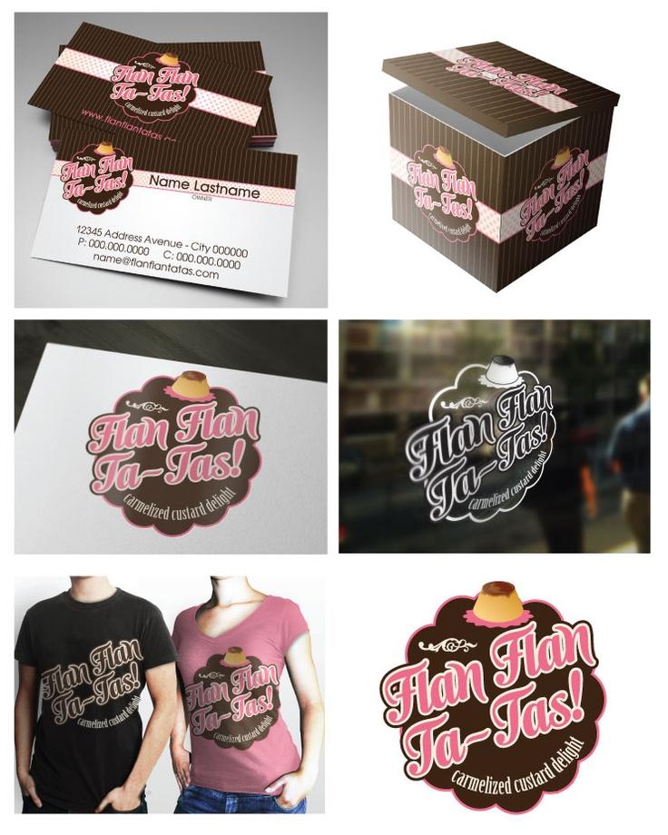 Won design 99designs contest Flan Flan Ta Tas! Logo