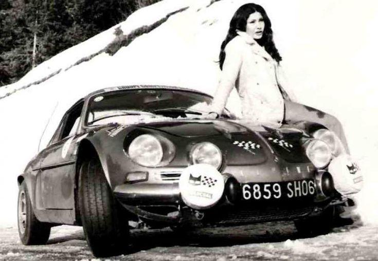 Michèle Mouton Alpine A110