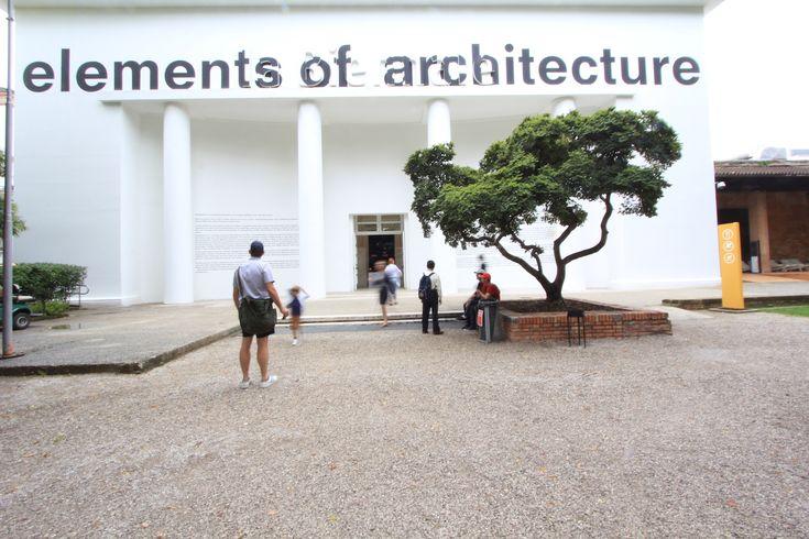 Venice Biennale 2014: Central Pavilion  elements of architecture (e o a) Outside.