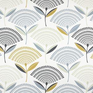 Dandelion Saffron 100% Cotton 137cm |64cm Curtaining
