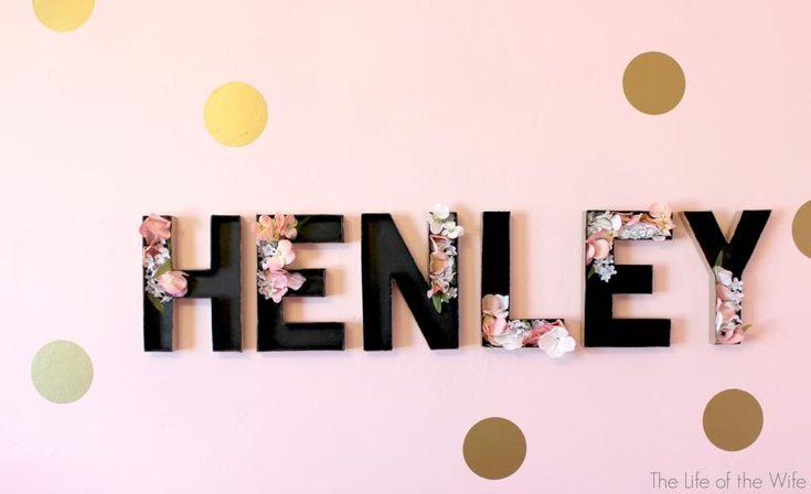 Henley's Room Reveal- cutest little girls room ever!