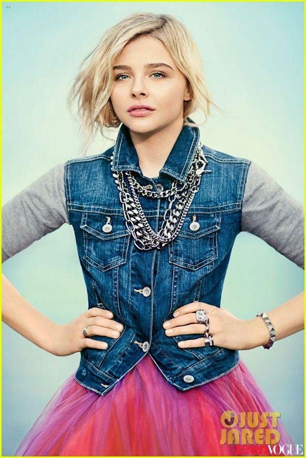 CHLOE MORETZ TEEN VOGUE PHOTOS 2013 | Chloe Moretz Covers 'Teen Vogue' March 2013 | Chloe Moretz, Magazine ...