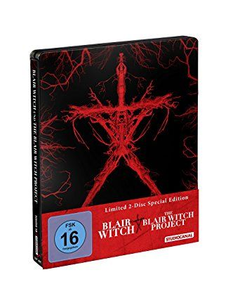 Blair Witch (2016) + The Blair Witch Project (Steelbook)