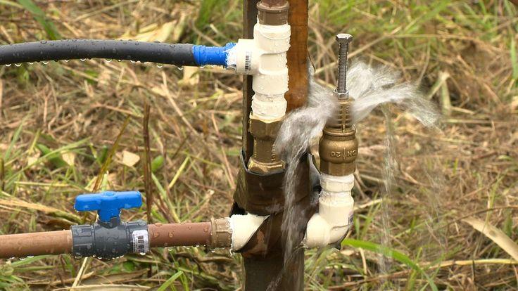 Carneiro hidráulico Epagri - montagem e instalação