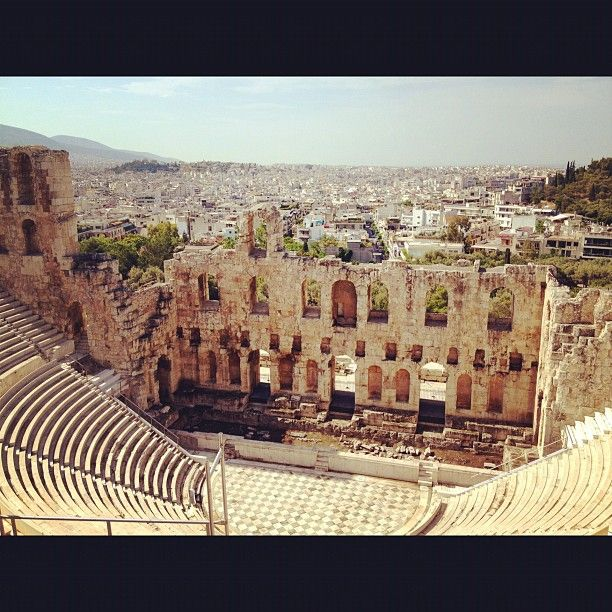 Theatre of Dionysus at the Acropolis, Greece