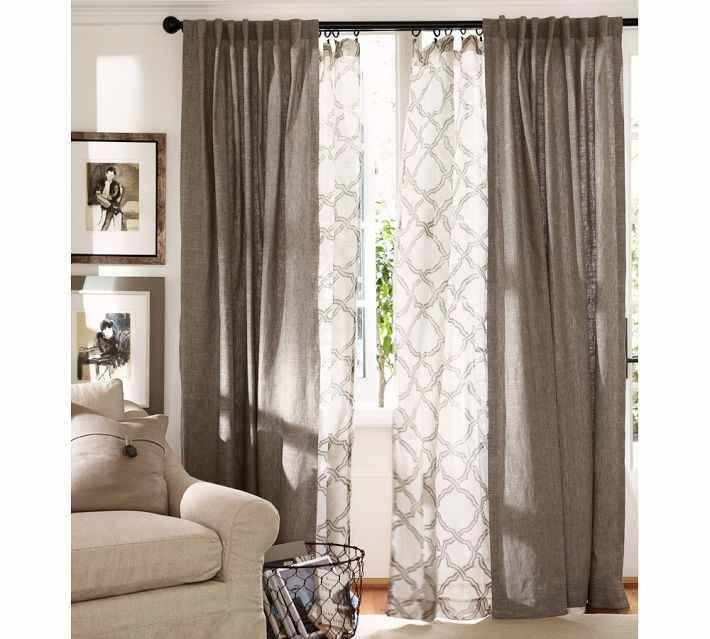 Double Curtain Look Casa Pinterest Window Design And I Love
