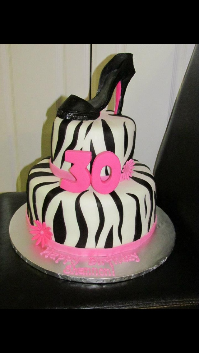 Happy 30th Birthday Cake Inspiring Ideas Pinterest
