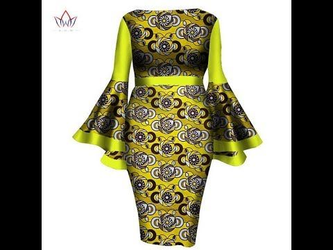 80+ Latest Ankara Short Dresses You Should Try Now:Trendiest Short Dresses For The Fashionistas - YouTube