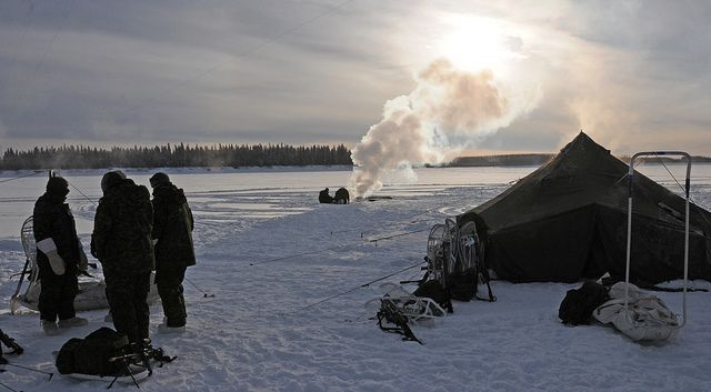 alert nunavut military base