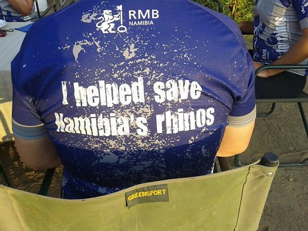 Ride For Rhinos #Namibia #conservation