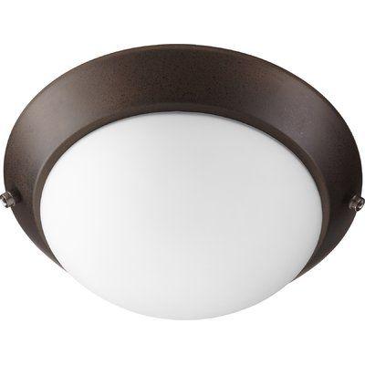 Quorum First Lo Prof 2 Light Bowl Ceiling Fan Light Kit