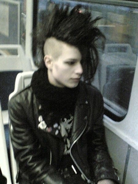 This is the picture that inspired me to get a Mohawk, don't know who you are dude, but thank you. Best decision of my life.