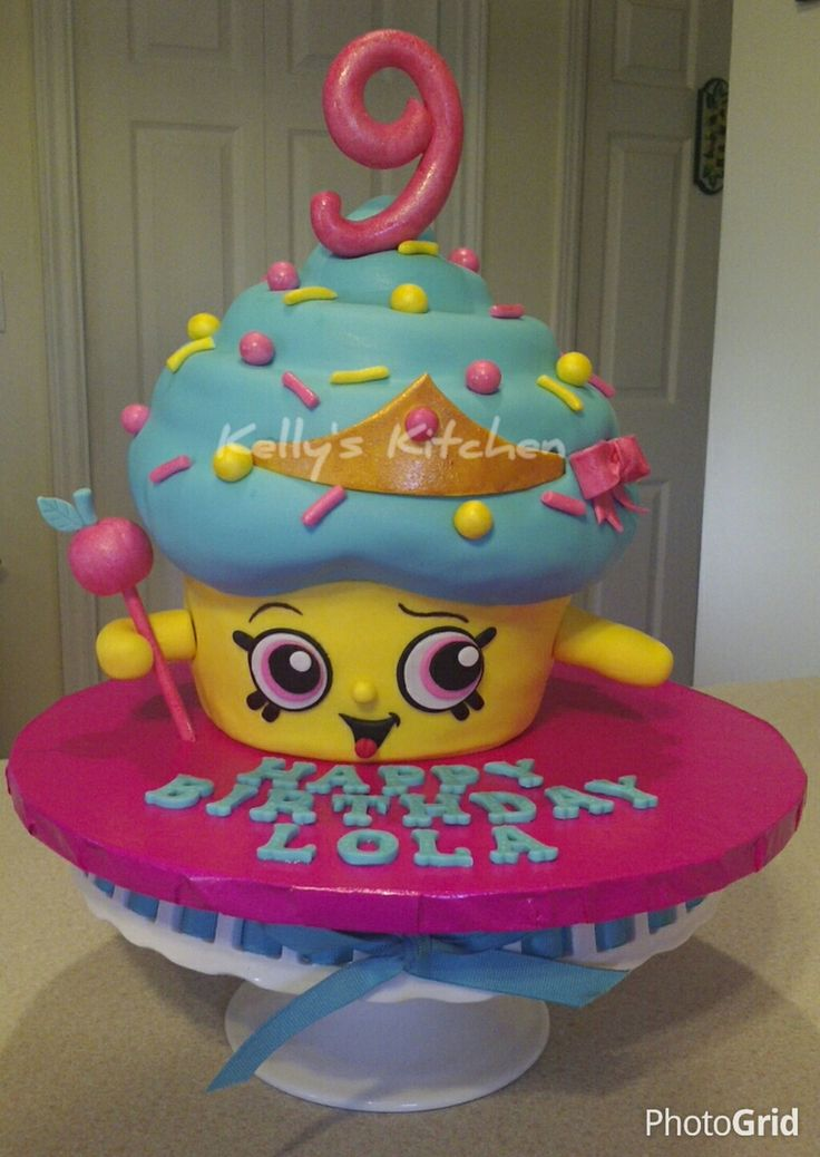 Shopkins Cupcake Queen