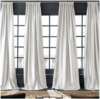 Best 20 silk curtains ideas on pinterest french for Restoration hardware window shades