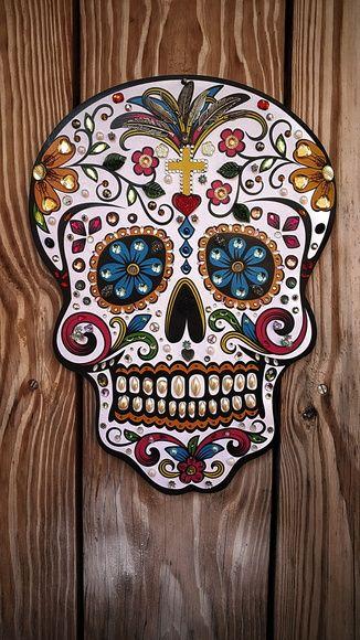 Caveira Mexicana Ornamentada                                                                                                                                                                                 Mais