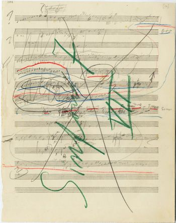 This article (on the excellent www.sibelius.fi website) is an overview about Sibelius's music manuscripts and where they can be found.