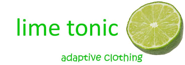 Lime Tonic adaptive clothing, Summer collection for elderly, disability and post operation clothing