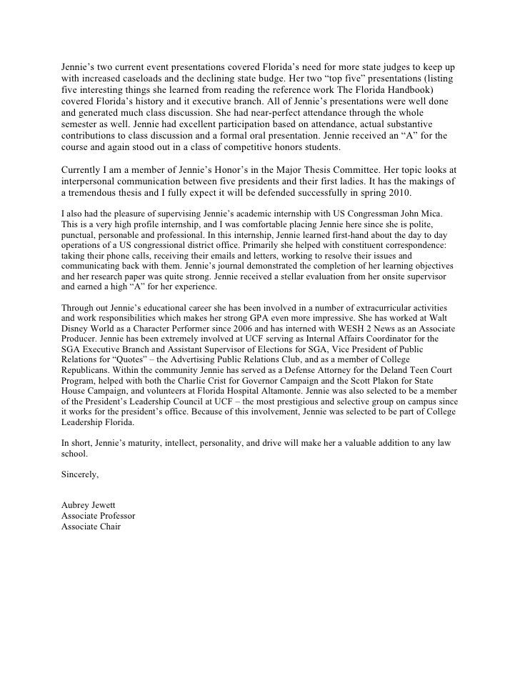 28+ Law school letter of recommendation sample ideas
