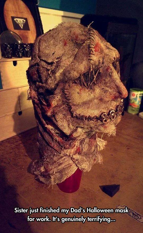 Terrifying Halloween Mask