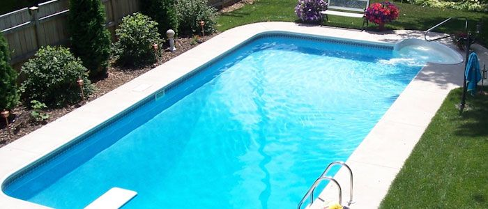 Pool Warehouse sells more rectangle swimming pool kits online than any other company. Our inground pool kits come with free shipping and are American made!