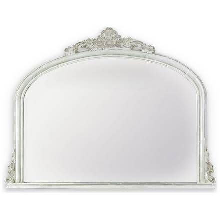 Buy Innova Solid Wood Over Mantel Mirror - Silver Effect at Argos.co.uk, visit Argos.co.uk to shop online for Mirrors, Home furnishings, Home and garden