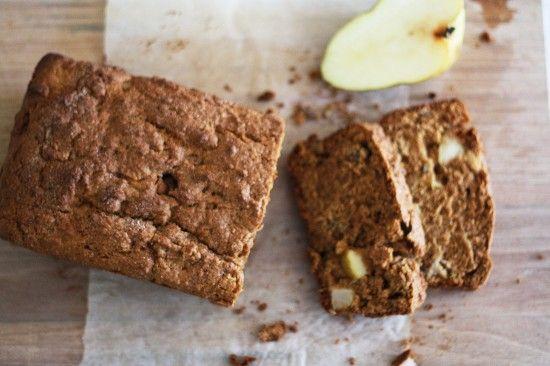 Pear spice pecan loaf | Food: Bread | Pinterest