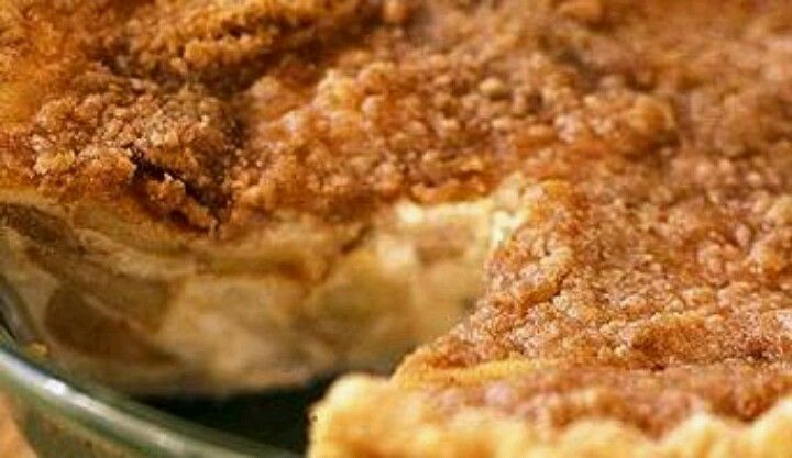 Apple Buttermilk Custard Pie !! | cream pies/pies | Pinterest
