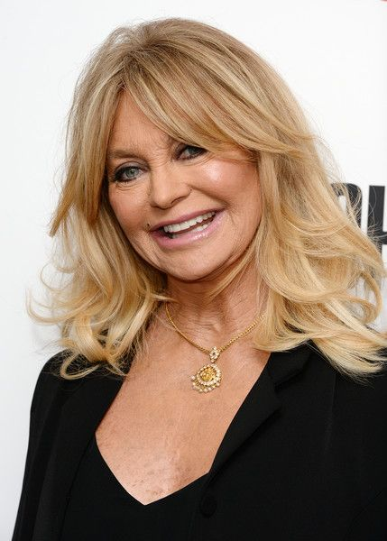 Goldie Hawn Long Hair Styles Medium Hair Styles Older