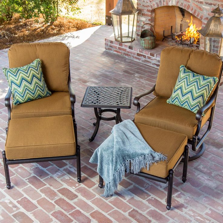 118 best Patio Furniture images on Pinterest Paths Bronze