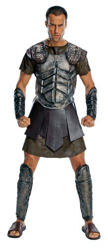 Clash Of The Titans Deluxe Perseus Costume, Gray, Standard Rubies Costume Co,http