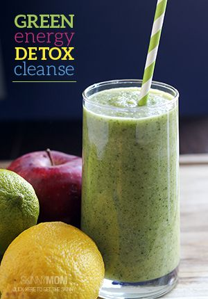 This drink is packed with fruits and veggies to get you back on track and up to speed!