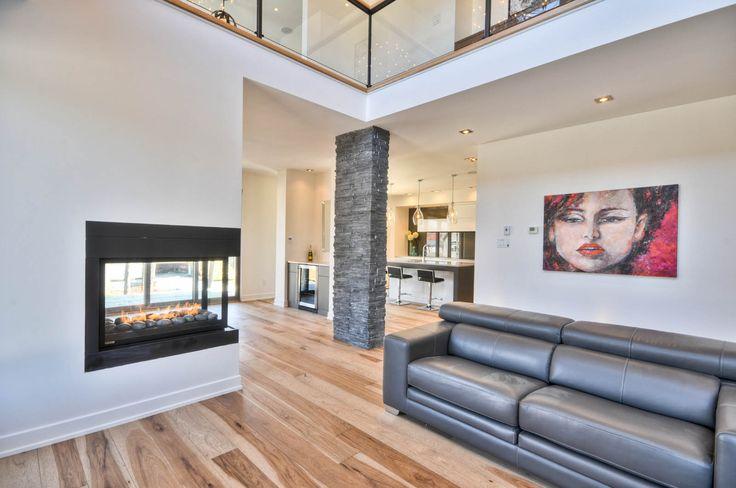 Grand Salon Avec Foyer : Best projet rivermead images on pinterest building