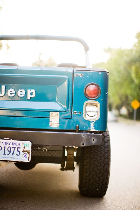 Cool jeep used in recent editorial shoot. Photo by Leslee Mitchell. Print available here: society6.com/...