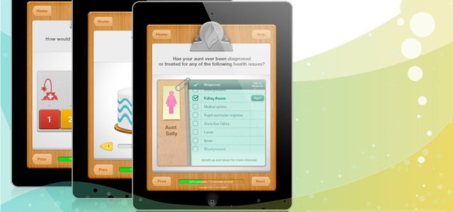 Tonic Health - creates a game-like ipad interface for patients to communicate with doctors